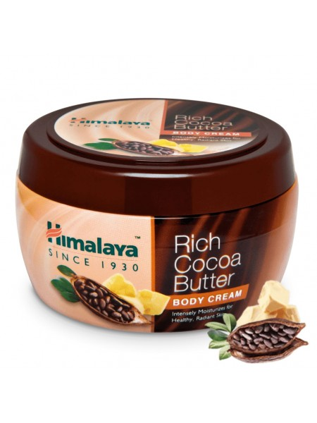 Крем для тела с Какао маслом, Хималая, 200мл, Rich Cocoa Butter Body Cream Himalaya, 200ml